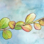 Watercolor on paper - 2011 - SOLD