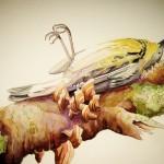 Nature Study Dead Bird